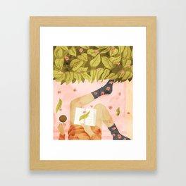 Me Time Framed Art Print