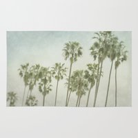 palm trees Area & Throw Rugs featuring Palm Trees by Pure Nature Photos