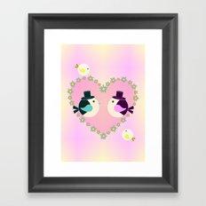 Loving You Framed Art Print