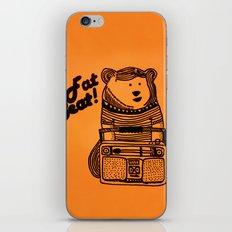 Fat Beat! iPhone & iPod Skin
