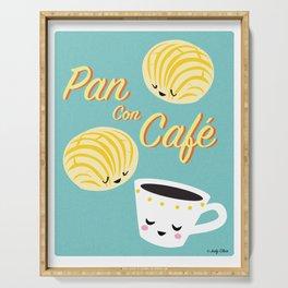 Pan Con Cafe Serving Tray