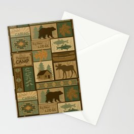 Big Bear Lodge Stationery Cards