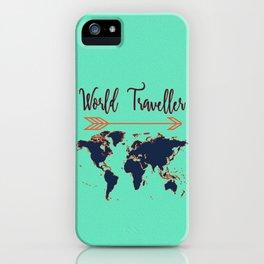 World Traveller iPhone Case