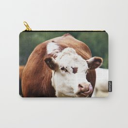 Herefordshire Cow Carry-All Pouch