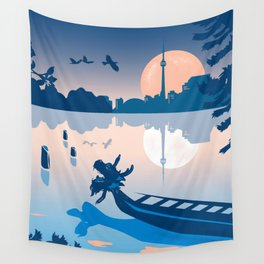 Dragon Boat Toronto Canada by Cindy Rose Studio Wall Tapestry