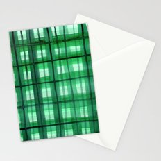 Evergreen Plaid Stationery Cards