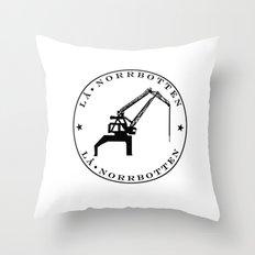 Norrbotten Throw Pillow