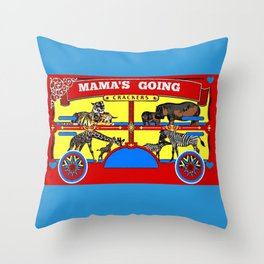 Cracking Up Throw Pillow
