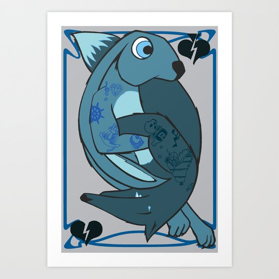 Song To The Siren Art Print