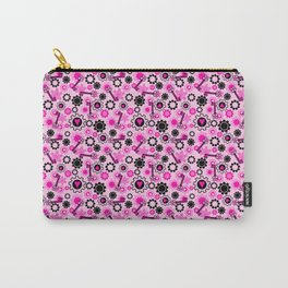 Hot Pink Steampunk Carry-All Pouch