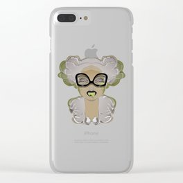 MISS TOXIC 2 Mugshot Evening Party Captain Clear iPhone Case