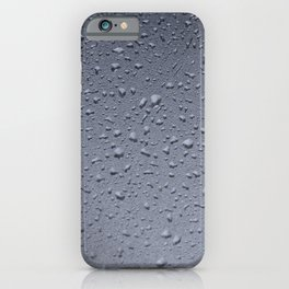 Gouttes d'eau iPhone Case