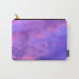 Purple Clouds Carry-All Pouch
