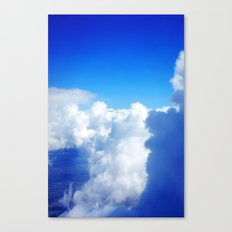 Up High In the Fluffy White Clouds Canvas Print