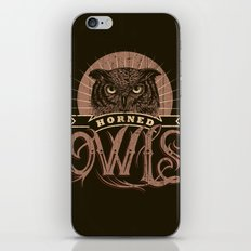 Team Owl iPhone & iPod Skin