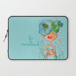 blue girl -- she's a gentle one. Laptop Sleeve