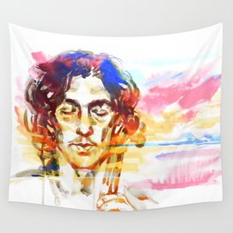 Music at sunset Wall Tapestry