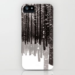 Tree Shadow iPhone Case