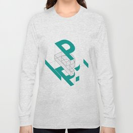 Exploded P Long Sleeve T-shirt