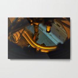 Space Station II Metal Print