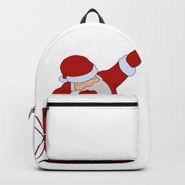 Santa Claus dabbing Backpack