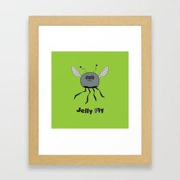 Jelly Fly Framed Art Print