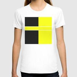 Team Color 6...yellow,black T-shirt
