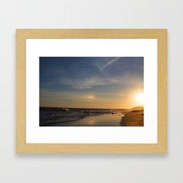 Sunset Vietnam Framed Art Print