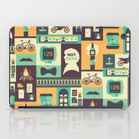 risa rodil iPad Cases featuring Empty Hearse by Risa Rodil