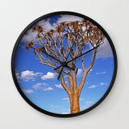 Quiver tree, Namibia Wall Clock