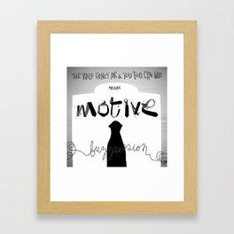 Motive Buzzsession Cover Art Framed Art Print