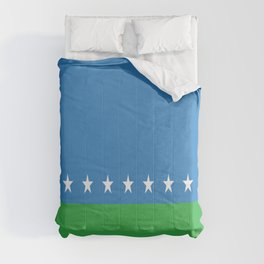 Flag of San Jose Costa Rica Comforters
