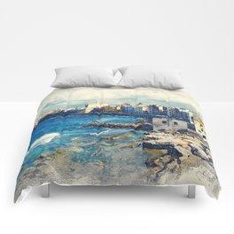 Trapani art 19 Sicily Comforters