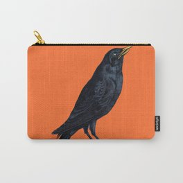 Vintage Raven Carry-All Pouch