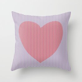 Heart Overload Valentine Issues Throw Pillow