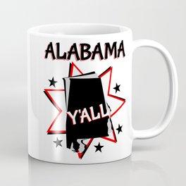Alabama State Pride T-shirt Coffee Mug