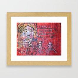 all nite chemist  - JEAN-LOUIS MORAY Framed Art Print