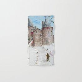Castell Coch (Red Castle) - Winter Hand & Bath Towel