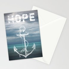 Hope Anchor Stationery Cards