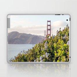 The Golden Gate Bridge in Spring Laptop & iPad Skin