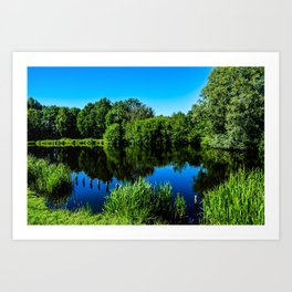Little Lake  Art Print