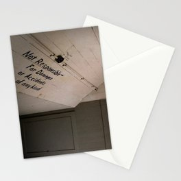 Not Responsible Stationery Cards