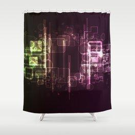 HighTech Shower Curtain