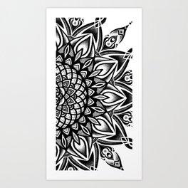 Hila Chen Mandala Desing Art Print