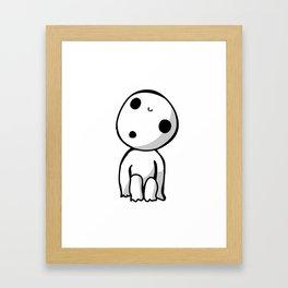 Kodama! Framed Art Print