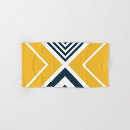 Nautical geometry 2 Hand & Bath Towel