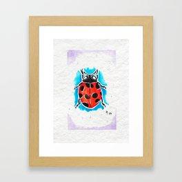 Summer Lover Framed Art Print