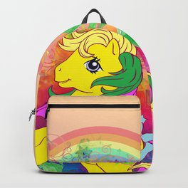 g1 my little pony tropical Tootie Tails Backpack