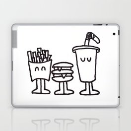 Fast Food Buddies Laptop & iPad Skin