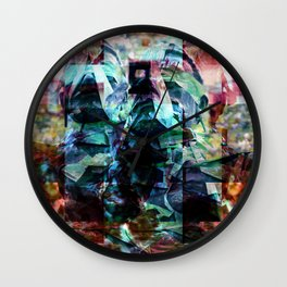 Guile unleashes infantile mock expressed riot act. Wall Clock